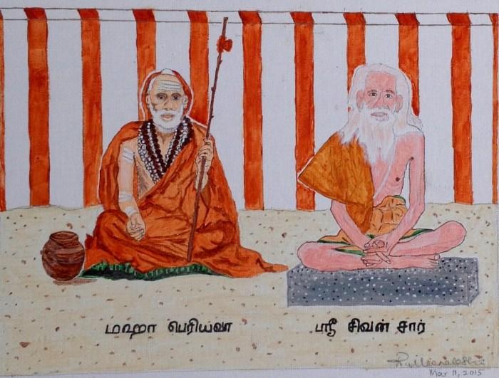 Periyava_Sar_Meena_Drawing