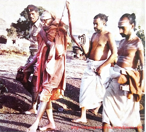 Parameshwaran on the move....