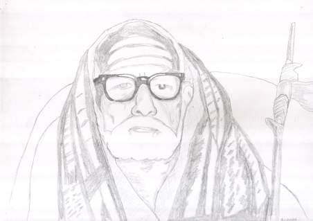 Periyava_sitting_closeup_drawing_sudhan