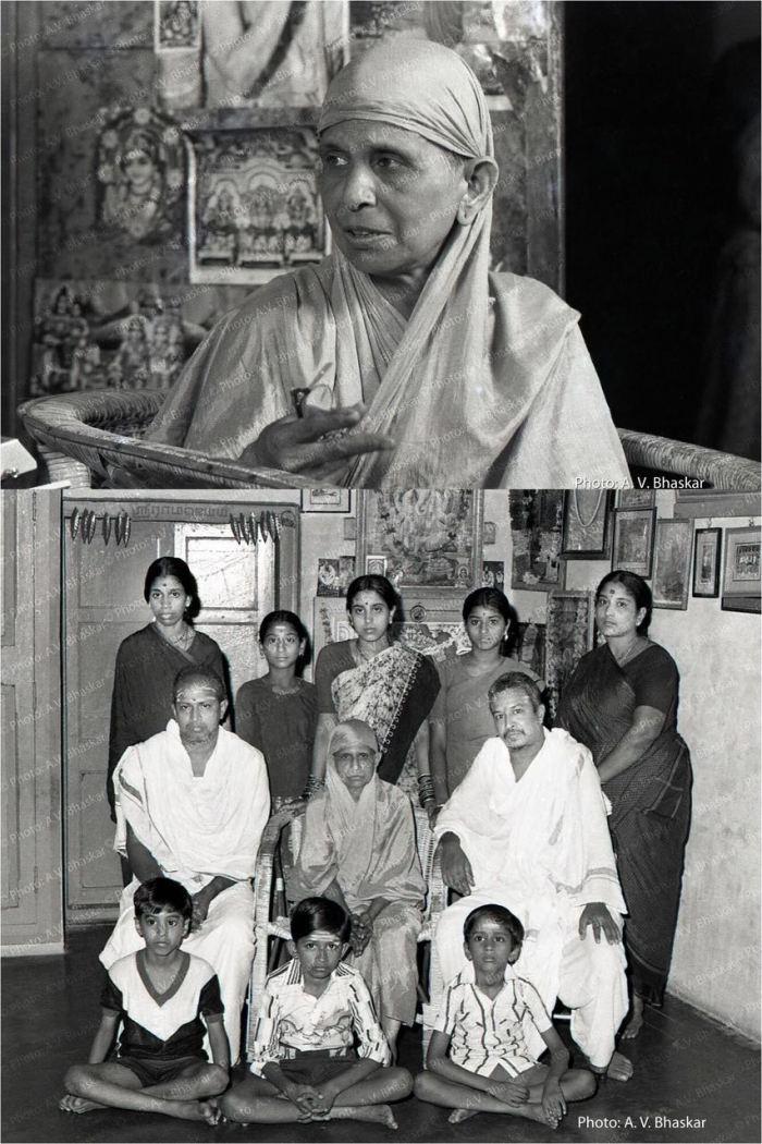 HH Pudhu Periyava Purvashrama Family