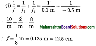 Maharashtra Board Class 10 Science Solutions Part 1 Chapter 7 Lenses 77