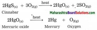 Maharashtra Board Class 10 Science Solutions Part 1 Chapter 8 Metallurgy 54