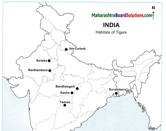 Maharashtra Board Class 10 Geography Solutions Chapter 5 Natural Vegetation and Wildlife 14