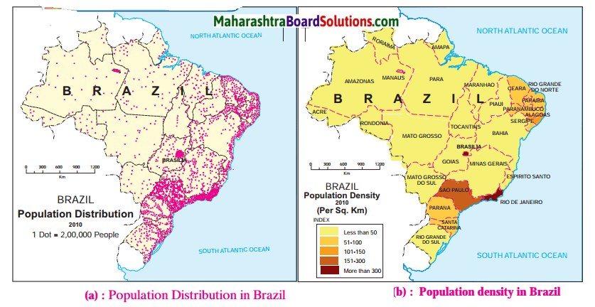 Maharashtra Board Class 10 Geography Solutions Chapter 6 Population 8