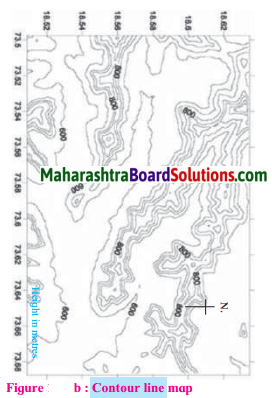 Maharashtra Board Class 7 Geography Solutions Chapter 11 Contour Maps and Landforms 7