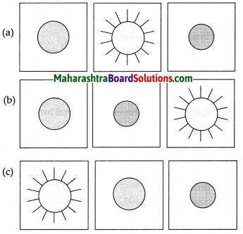 Maharashtra Board Class 7 Geography Solutions Chapter 2 The Sun, the Moon and the Earth 10