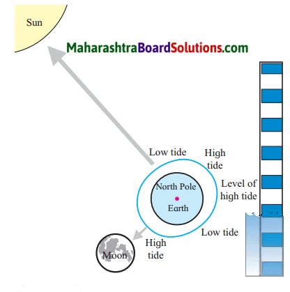 Maharashtra Board Class 7 Geography Solutions Chapter 3 Tides 1