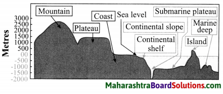 Maharashtra Board Class 8 Geography Solutions Chapter 4 Structure of Ocean Floor 3