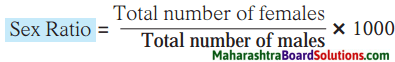 Maharashtra Board Class 8 Geography Solutions Chapter 7 Population 1