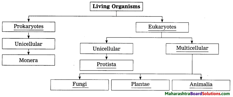 Maharashtra Board Class 8 Science Solutions Chapter 1 Living World and Classification of Microbes 2