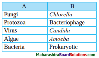 Maharashtra Board Class 8 Science Solutions Chapter 1 Living World and Classification of Microbes 3