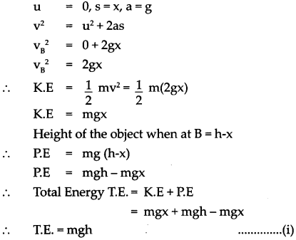 Maharashtra Board Class 9 Science Solutions Chapter 2 Work and Energy 2