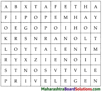 Maharashtra Board Class 7 English Solutions Chapter 3.2 Compere a Programme 4