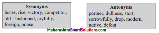 Maharashtra Board Class 8 English Solutions Chapter 3.1 The Plate of Gold 10