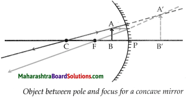 Maharashtra Board Class 9 Science Solutions Chapter 11 Reflection of Light 8