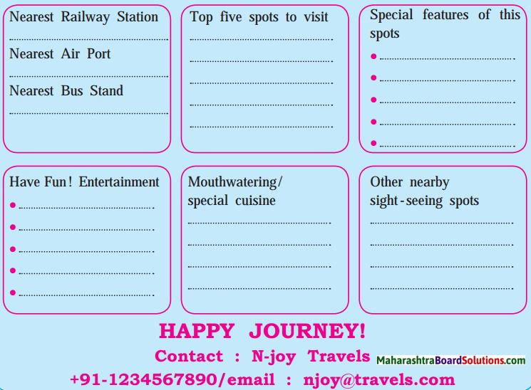 Maharashtra Board Class 10 My English Coursebook Solutions Chapter 2.6 World Heritage 1