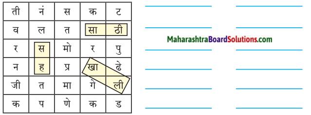 Maharashtra Board Class 7 Marathi Solutions Chapter 8 शब्दांचे घर 3