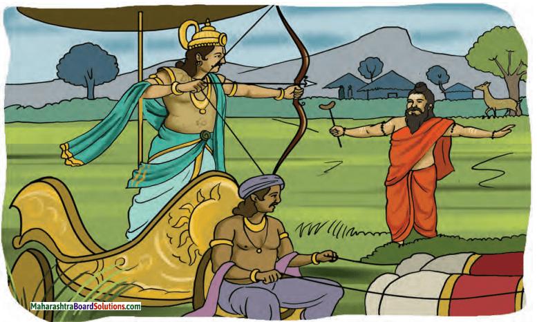 Maharashtra Board Class 10 Sanskrit Amod Solutions Chapter 7 संस्कृतनाट्यस्तबकः 1