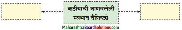 Maharashtra Board Class 9 Marathi Kumarbharti Solutions Chapter 3 कीर्ती कठीयाचा दृष्टान्त 1