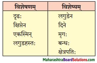 Maharashtra Board Class 10 Sanskrit Anand Solutions Chapter 2 व्यसने मित्रपरीक्षा 1