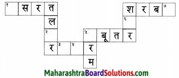 Maharashtra Board Class 5 Hindi Solutions पुनरावर्तन १ 3
