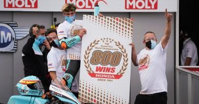 होंडातर्फे 800 वा एफआयएम वर्ल्ड चॅम्पियनशीप ग्रँड प्रिक्स विजय साकार