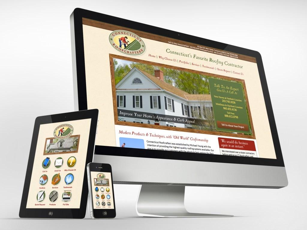 Branding of premium roofing company