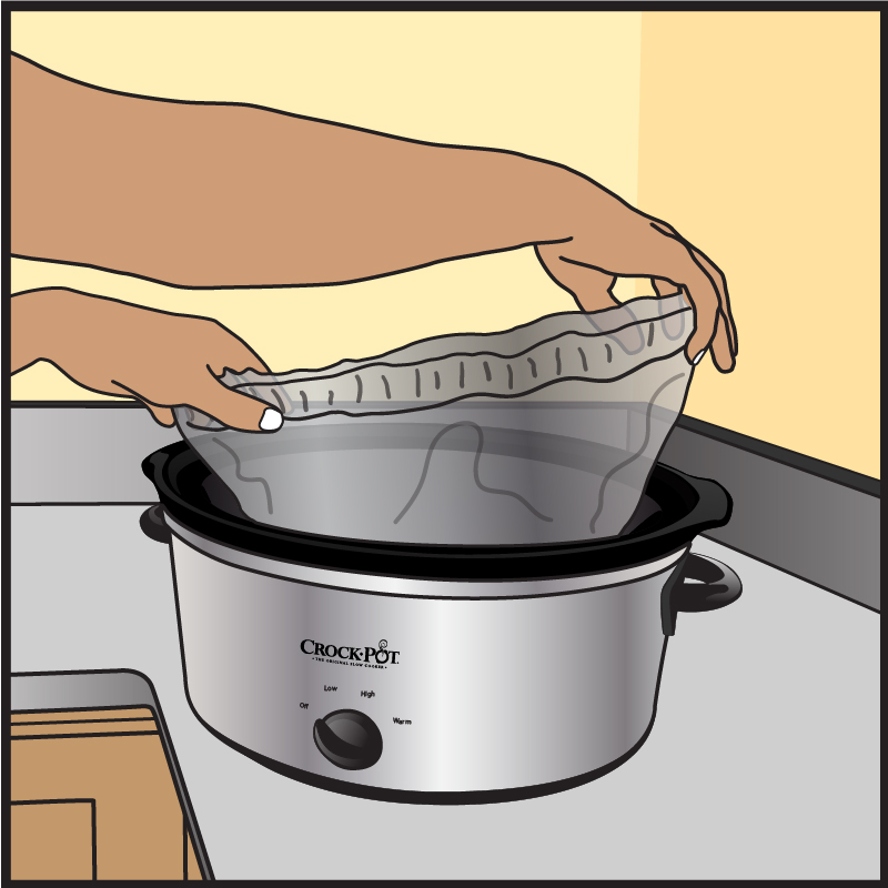 Crock-Pot Liner Illustration