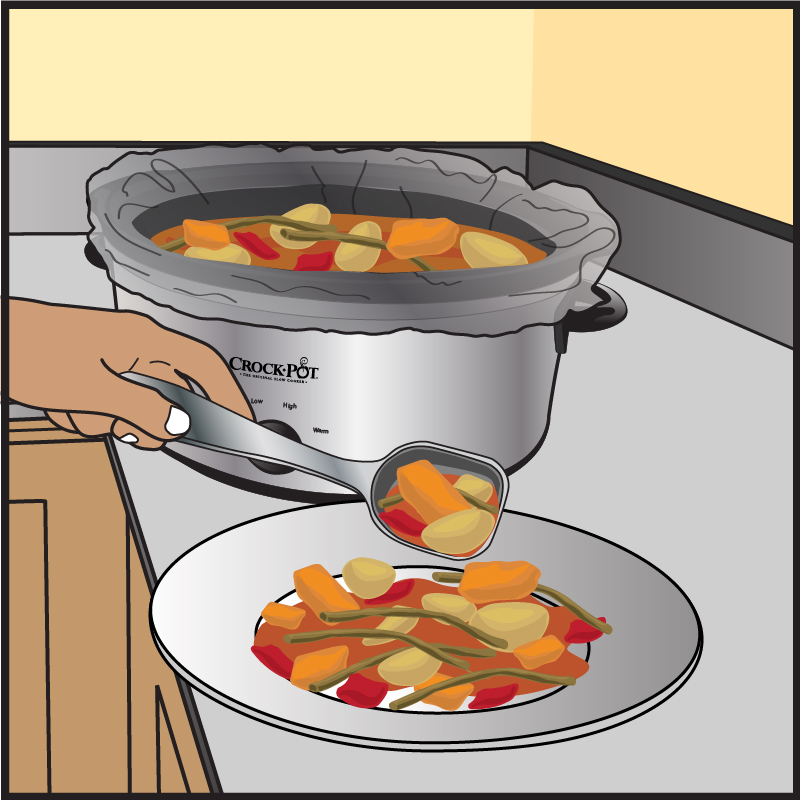 Crock-Pot Liner Illustration 3