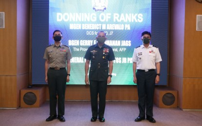 2 AFP officials promoted to next higher rank