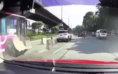 Another bus hits Edsa barrier; speeding to blame: DOTr, MMDA