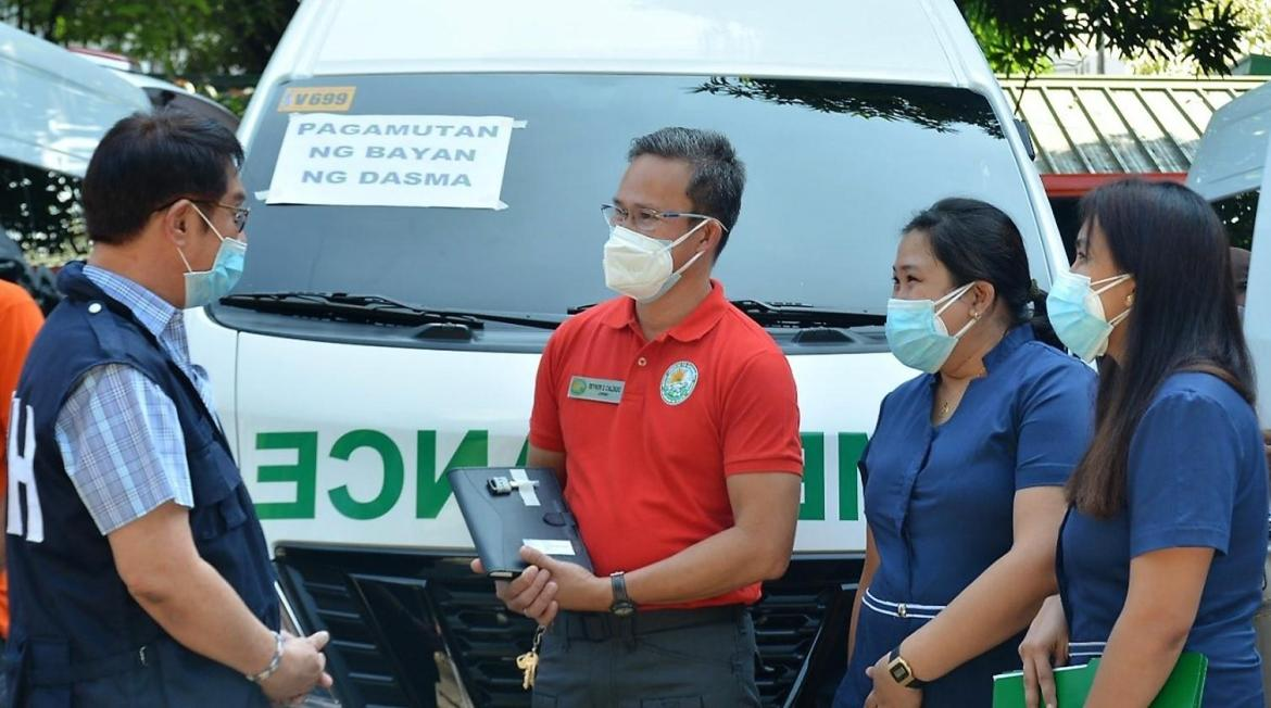 DOH-Calabarzon donates 10 more ambulances to better serve patients in rural areas