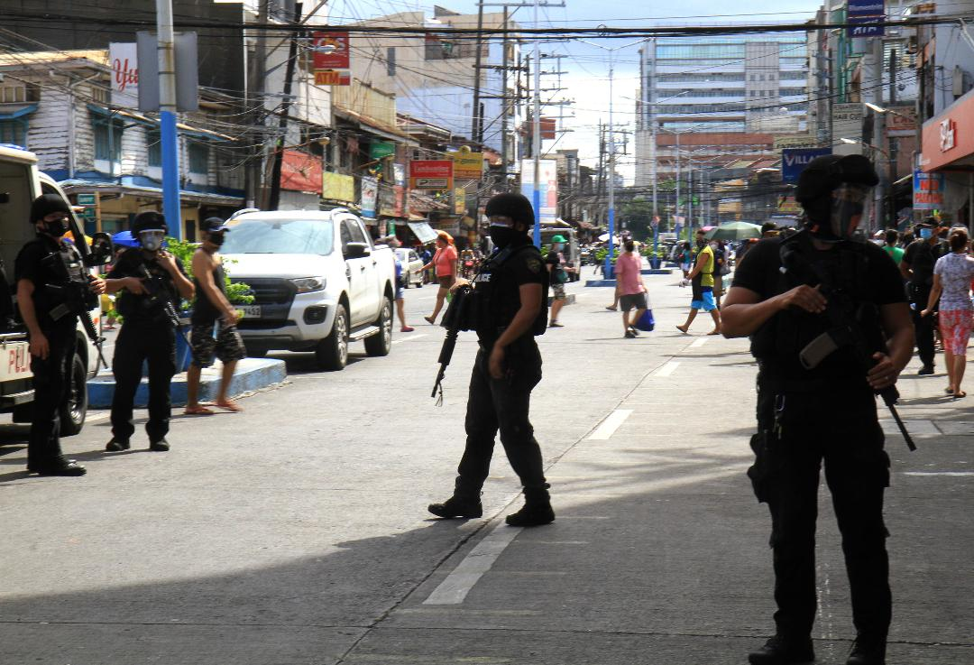 Manila's Finest conduct roving ops