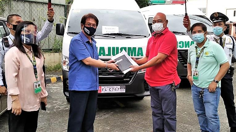 DOH-Calabarzon releases 5 more ambulances for Covid response efforts in remote areas of the region