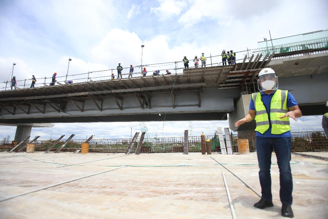 Burnt, collapsed Skyway Stage 3 section now OK — Villar