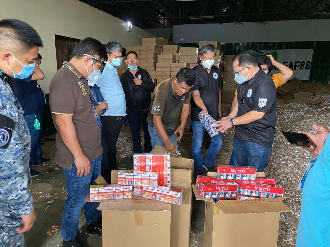 MICP condemns P120M worth of smuggled cigarettes