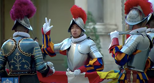 There's A Filipino in the Pope's Swiss Guard