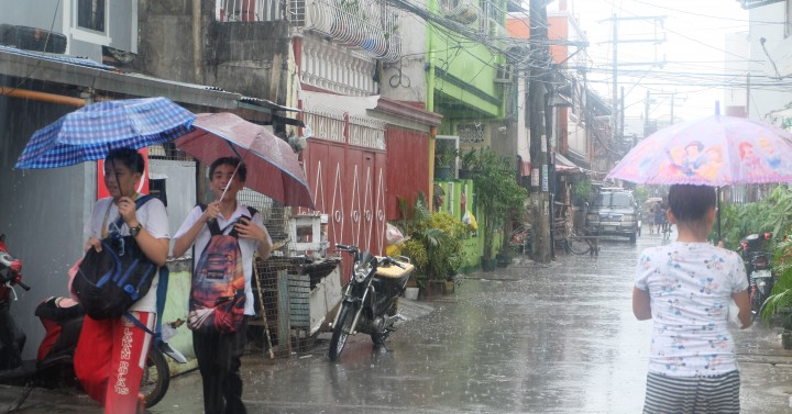 LPA to bring rains, thunderstorms over Visayas, Southern Luzon