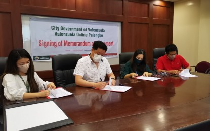 Valenzuela gov't to aid SMMEs engaged in online selling
