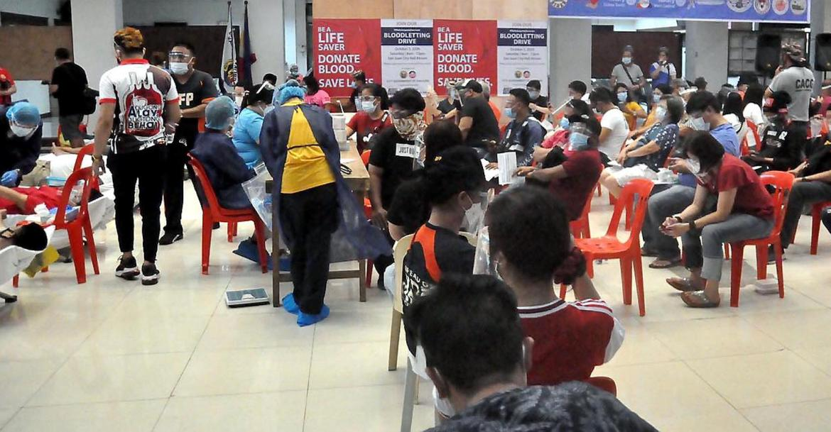 Hundreds participate in San Juan City bloodletting
