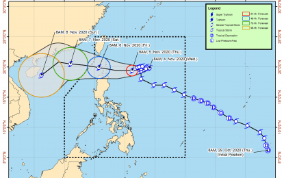 'Siony' maintains strength; strong winds up in northern Luzon