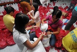Church warns public vs  bogus groups soliciting donations for typhoon victims