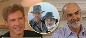 Harrison Ford remembers his late onscreen father Sean Connery