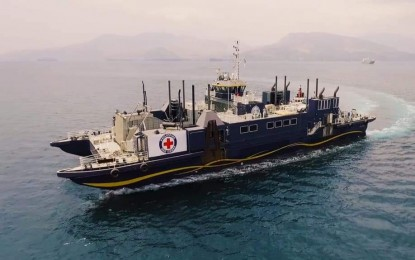Red Cross ship sails to Catanduanes for relief mission