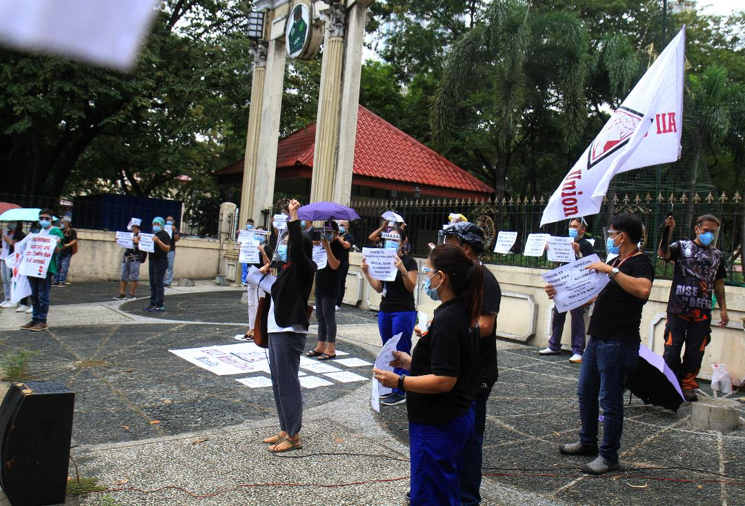 PGH healthcare workers decry delay on their hazard special risk pay