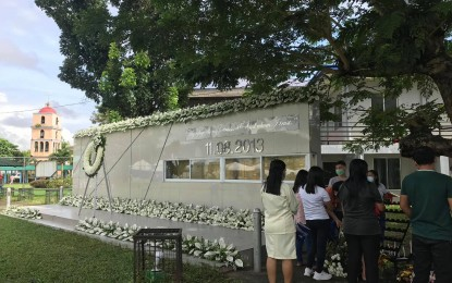 Leyte town pays tribute to 'Yolanda' victims