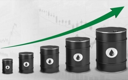 Oil prices up over bullish sentiment on vaccines