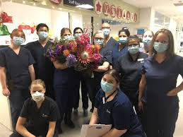 Nurses 'starstruck' after receiving surprise delivery from Liam Neeson