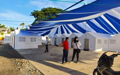 NegOr sets up 'Covid tent city' for asymptomatic patients