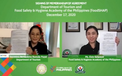 PH to level up food safety standards in tourism